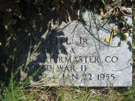 FITL, MIKE JR. - Saline County, Nebraska | MIKE JR. FITL - Nebraska Gravestone Photos
