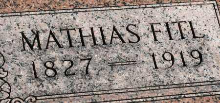 FITL, MATHIAS - Saline County, Nebraska | MATHIAS FITL - Nebraska Gravestone Photos