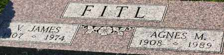 FITL, V. JAMES - Saline County, Nebraska | V. JAMES FITL - Nebraska Gravestone Photos