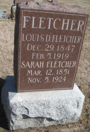 FLETCHER, LOUIS D. - Saline County, Nebraska | LOUIS D. FLETCHER - Nebraska Gravestone Photos