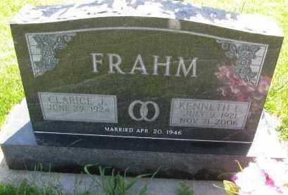 BRICK FRAHM, CLARICE JEAN - Saline County, Nebraska   CLARICE JEAN BRICK FRAHM - Nebraska Gravestone Photos