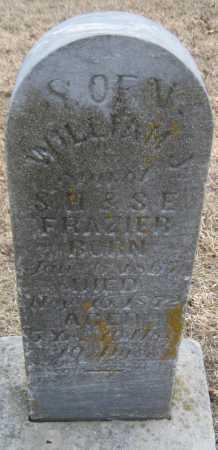 FRANZIER, WILLIAM J. - Saline County, Nebraska | WILLIAM J. FRANZIER - Nebraska Gravestone Photos