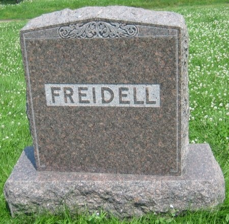 FREIDELL, FAMILY MONUMENT - Saline County, Nebraska | FAMILY MONUMENT FREIDELL - Nebraska Gravestone Photos