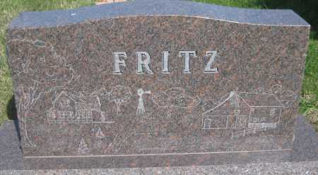 FRITZ, WILLA - Saline County, Nebraska | WILLA FRITZ - Nebraska Gravestone Photos