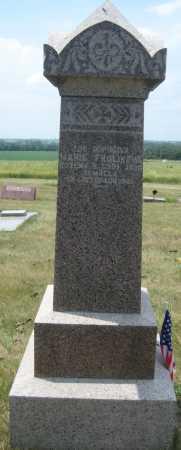 FROLIK, MARIE - Saline County, Nebraska | MARIE FROLIK - Nebraska Gravestone Photos
