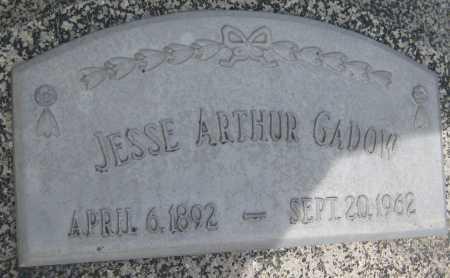 GADOW, JESSE ARTHUR - Saline County, Nebraska | JESSE ARTHUR GADOW - Nebraska Gravestone Photos