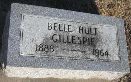 GILLESPIE, BELLE - Saline County, Nebraska   BELLE GILLESPIE - Nebraska Gravestone Photos