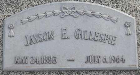 GILLESPIE, JAYSON ELSEY - Saline County, Nebraska | JAYSON ELSEY GILLESPIE - Nebraska Gravestone Photos