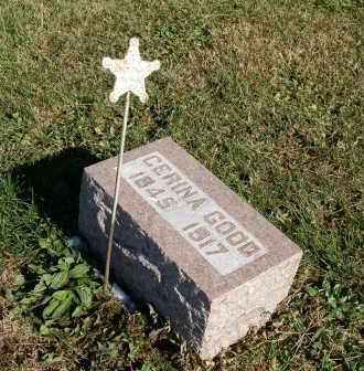 GOOD, CERINA - Saline County, Nebraska | CERINA GOOD - Nebraska Gravestone Photos