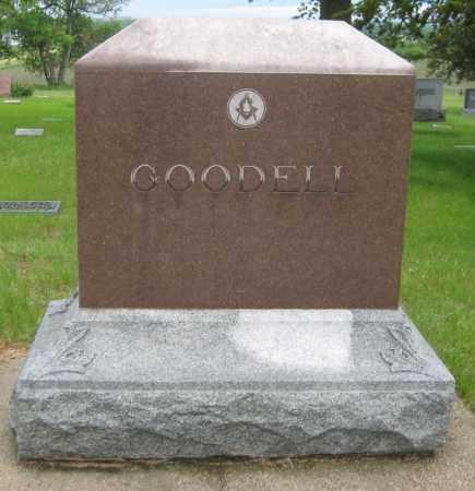 GOODELL, FAMILY STONE - Saline County, Nebraska   FAMILY STONE GOODELL - Nebraska Gravestone Photos