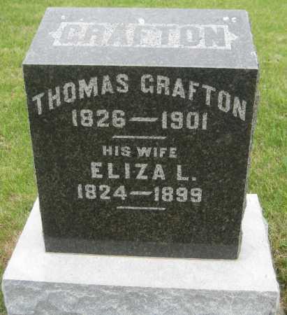 GRAFTON, THOMAS - Saline County, Nebraska | THOMAS GRAFTON - Nebraska Gravestone Photos