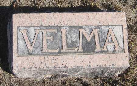 GRAVES, VELMA - Saline County, Nebraska | VELMA GRAVES - Nebraska Gravestone Photos