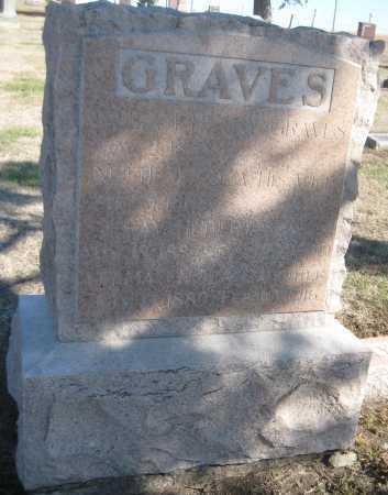 GRAVES, RAY HUBERT - Saline County, Nebraska | RAY HUBERT GRAVES - Nebraska Gravestone Photos