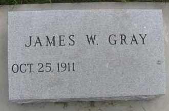 GRAY, JAMES W. - Saline County, Nebraska   JAMES W. GRAY - Nebraska Gravestone Photos