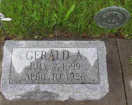 GREER, GERALD A. - Saline County, Nebraska | GERALD A. GREER - Nebraska Gravestone Photos