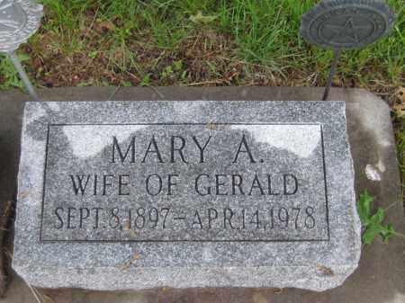 GREER, MARY A. - Saline County, Nebraska | MARY A. GREER - Nebraska Gravestone Photos