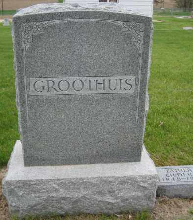GROOTHUIS, FAMILY MONUMENT - Saline County, Nebraska | FAMILY MONUMENT GROOTHUIS - Nebraska Gravestone Photos