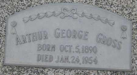 GROSS, ARTHUR GEORGE - Saline County, Nebraska | ARTHUR GEORGE GROSS - Nebraska Gravestone Photos
