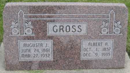 GROSS, AUGUSTA J. - Saline County, Nebraska | AUGUSTA J. GROSS - Nebraska Gravestone Photos