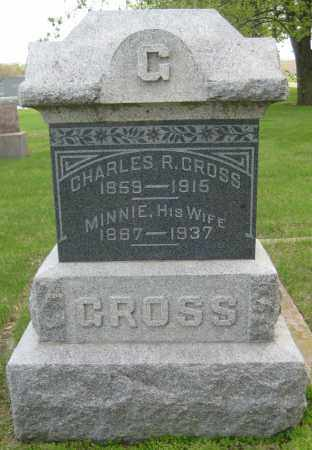 GROSS, CHARLES R. - Saline County, Nebraska | CHARLES R. GROSS - Nebraska Gravestone Photos