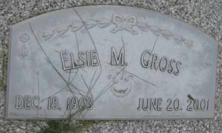 GROSS, ELSIE M. - Saline County, Nebraska | ELSIE M. GROSS - Nebraska Gravestone Photos