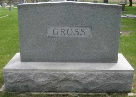 GROSS, FAMILY MONUMENT - Saline County, Nebraska | FAMILY MONUMENT GROSS - Nebraska Gravestone Photos