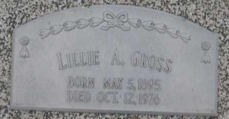 GROSS, LILLIE A,. - Saline County, Nebraska | LILLIE A,. GROSS - Nebraska Gravestone Photos