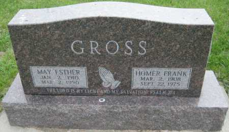 GROSS, MAY ESTHER - Saline County, Nebraska | MAY ESTHER GROSS - Nebraska Gravestone Photos