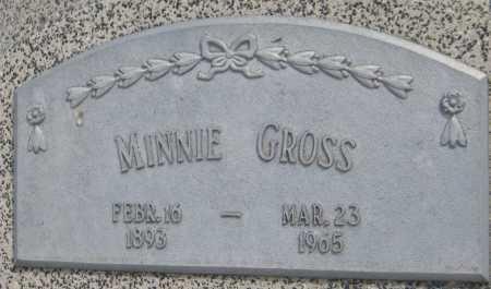 GROSS, MINNIE - Saline County, Nebraska   MINNIE GROSS - Nebraska Gravestone Photos