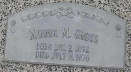 GROSS, MINNIE M. - Saline County, Nebraska   MINNIE M. GROSS - Nebraska Gravestone Photos