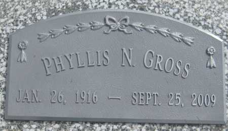 GROSS, PHYLLIS N. - Saline County, Nebraska | PHYLLIS N. GROSS - Nebraska Gravestone Photos