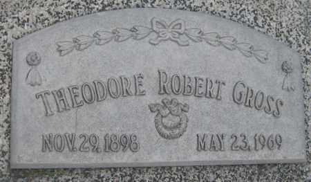GROSS, THEODORE ROBERT - Saline County, Nebraska | THEODORE ROBERT GROSS - Nebraska Gravestone Photos