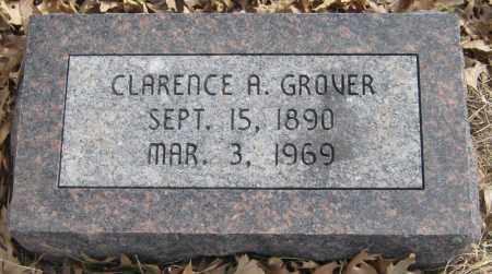 GROVER, CLARENCE A. - Saline County, Nebraska | CLARENCE A. GROVER - Nebraska Gravestone Photos