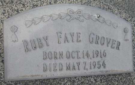 GROVER, RUBY FAYE - Saline County, Nebraska   RUBY FAYE GROVER - Nebraska Gravestone Photos