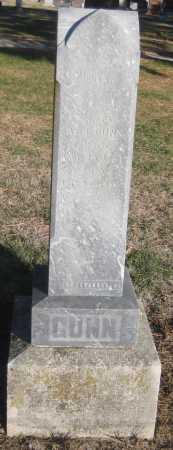 GUNN, ALONZO W. - Saline County, Nebraska   ALONZO W. GUNN - Nebraska Gravestone Photos