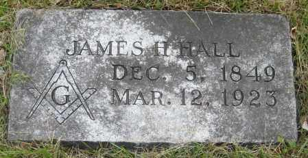 HALL, JAMES H. - Saline County, Nebraska | JAMES H. HALL - Nebraska Gravestone Photos