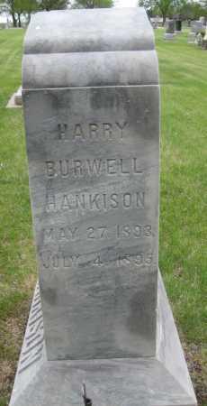 HANKISON, HARRY BURWELL - Saline County, Nebraska | HARRY BURWELL HANKISON - Nebraska Gravestone Photos