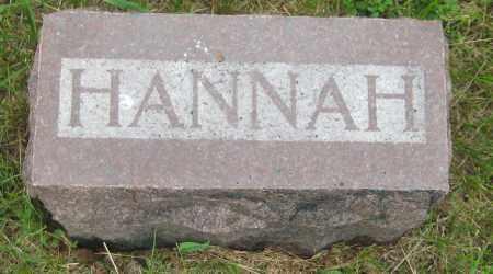 HARDY, HANNAH - Saline County, Nebraska | HANNAH HARDY - Nebraska Gravestone Photos