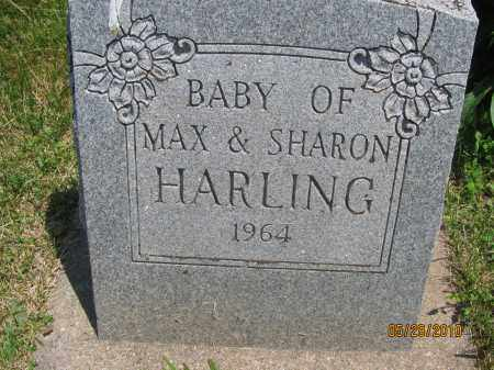 HARLING, BABY SON - Saline County, Nebraska | BABY SON HARLING - Nebraska Gravestone Photos