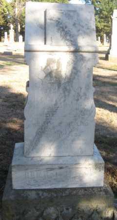 HARLING, WILLIAM E. - Saline County, Nebraska | WILLIAM E. HARLING - Nebraska Gravestone Photos