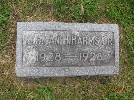 HARMS, HERMAN H. JR. - Saline County, Nebraska | HERMAN H. JR. HARMS - Nebraska Gravestone Photos