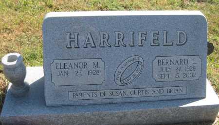 HARRIFELD, ELEANOR M. - Saline County, Nebraska   ELEANOR M. HARRIFELD - Nebraska Gravestone Photos