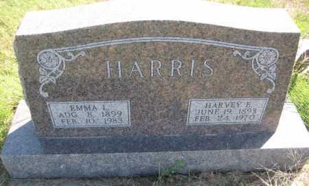 HARRIS, EMMA L. - Saline County, Nebraska | EMMA L. HARRIS - Nebraska Gravestone Photos