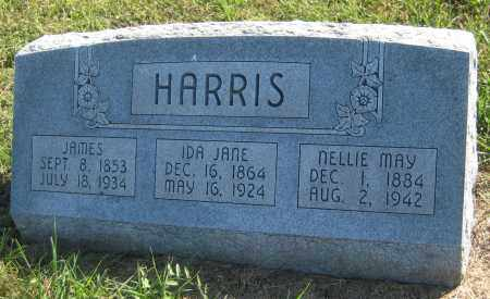 HARRIS, JAMES - Saline County, Nebraska | JAMES HARRIS - Nebraska Gravestone Photos