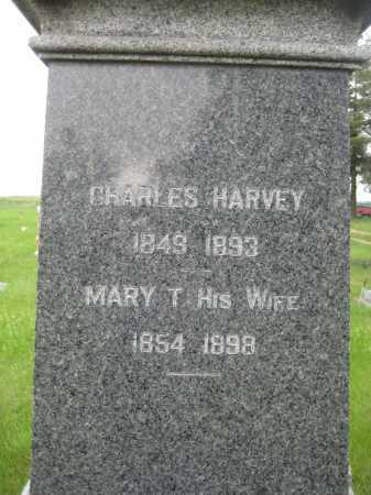 HARVEY, MARY T. - Saline County, Nebraska | MARY T. HARVEY - Nebraska Gravestone Photos