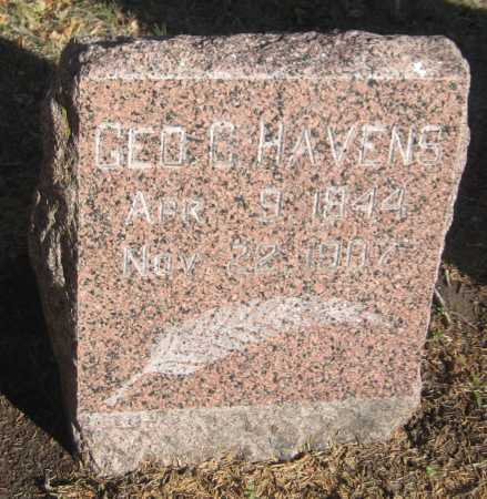 HAVENS, GEORGE C. - Saline County, Nebraska | GEORGE C. HAVENS - Nebraska Gravestone Photos