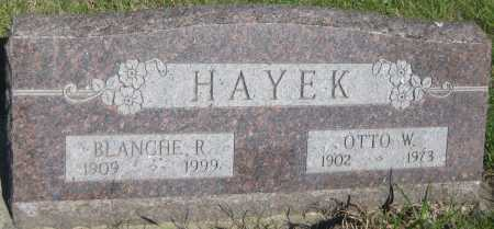 HAYEK, BLANCHE R. - Saline County, Nebraska | BLANCHE R. HAYEK - Nebraska Gravestone Photos