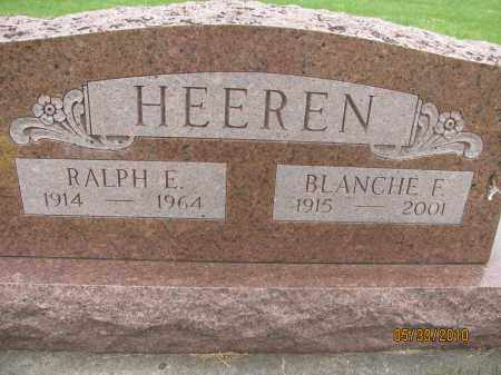 HEEREN, RALPH E. - Saline County, Nebraska   RALPH E. HEEREN - Nebraska Gravestone Photos