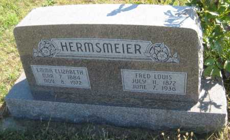 HERMSMEIER, FRED LOUIS - Saline County, Nebraska | FRED LOUIS HERMSMEIER - Nebraska Gravestone Photos
