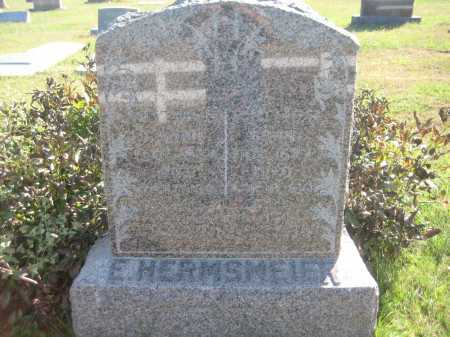 HERMSMEIER, E. - Saline County, Nebraska | E. HERMSMEIER - Nebraska Gravestone Photos